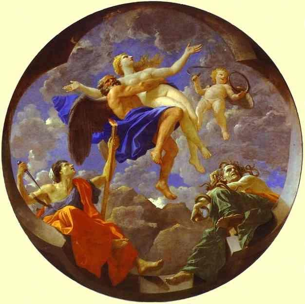 Nicolas Poussin. Time Revealing Truth with Envy and Discord.