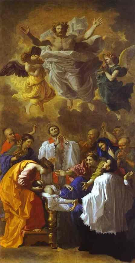 Nicolas Poussin. The Miracle of St. Francis Xavier.