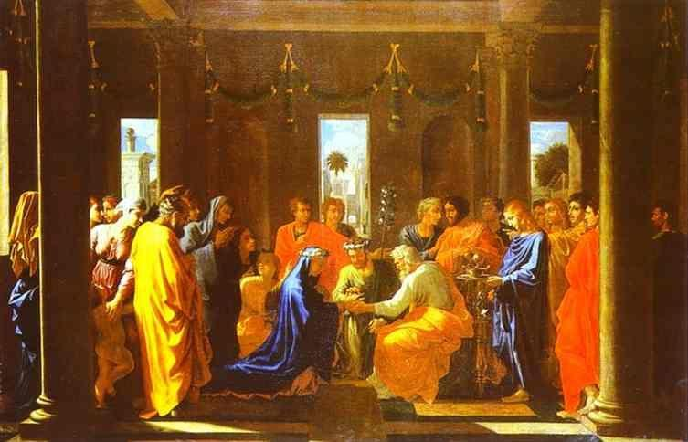 Nicolas Poussin. The Marriage of the Virgin.