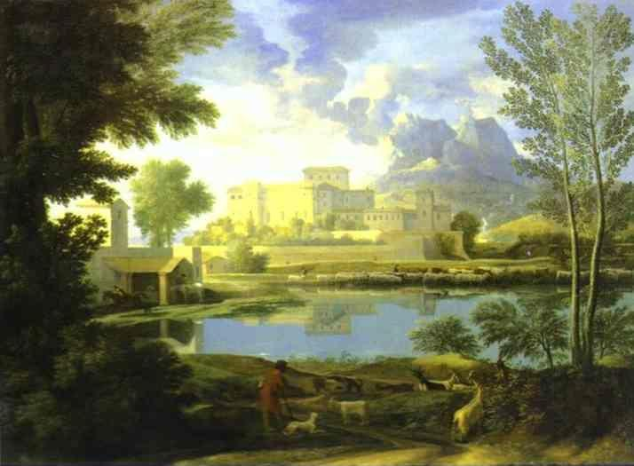 Nicolas Poussin. The Castle in Calm Weather.