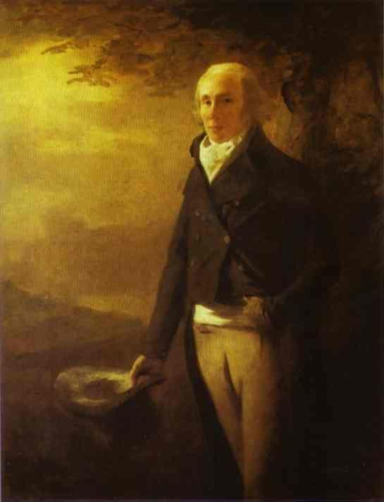Sir Henry Raeburn. Portrait of David  Anderson.