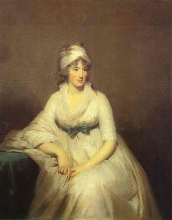 Sir Henry Raeburn. Portrait of Isabella  McLeod, Mrs. James Gregory.