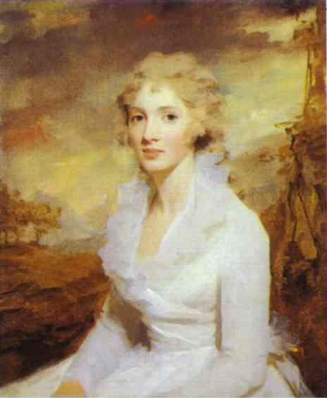 Sir Henry Raeburn. Portrait of Miss  Eleanor Urquhart.