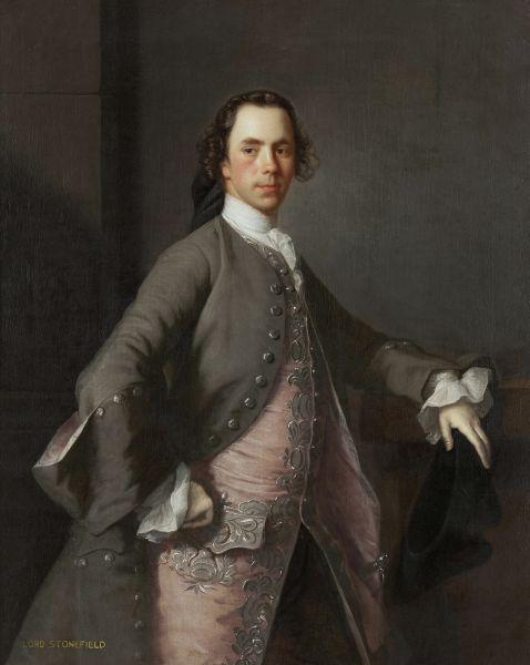 Allan Ramsay. Portrait of John Campbell, Lord Stonefield.