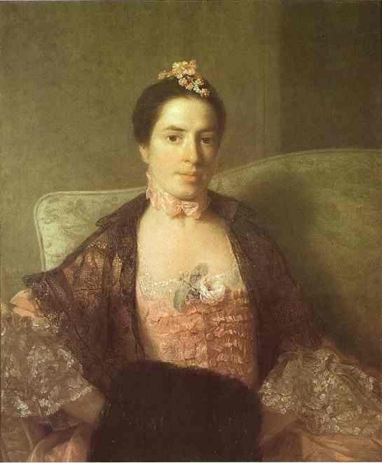 Allan Ramsay. Portrait of Martha,  Countess of Elgin.
