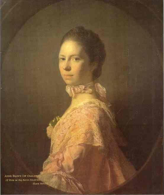 Allan Ramsay. Portrait of Anne Brown.