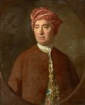 Allan Ramsay. Portrait of Philosopher David Hume.