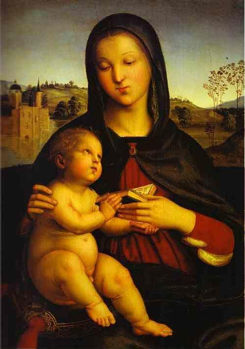 Raphael. Madonna and Child.