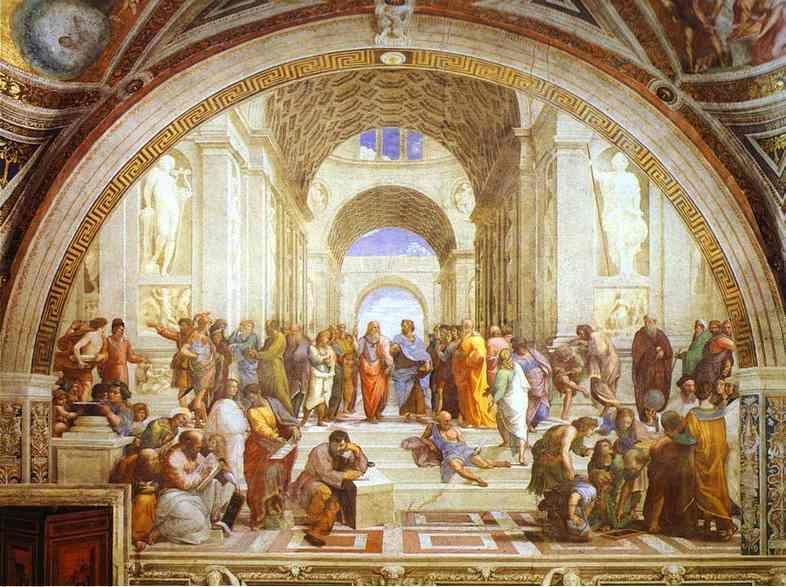 Raphael. The School of Athens.
