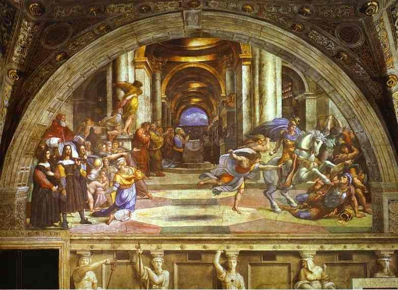 Raphael. The Expulsion of Heliodorus.