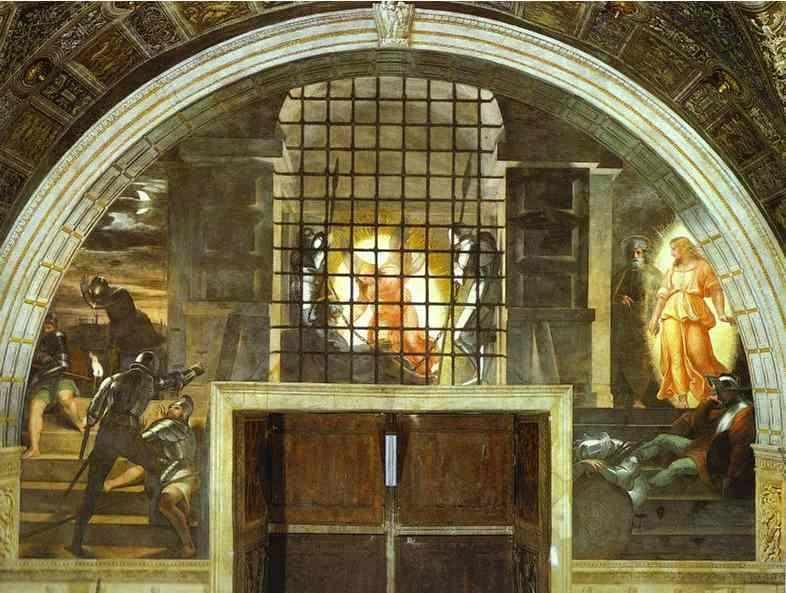 Raphael. The Freeing of St. Peter.