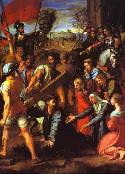 Raphael. The Hill of Calvary.