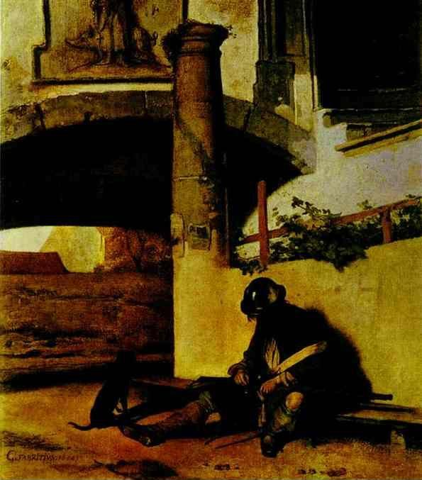 Carel Fabritius. The Watchman.