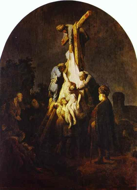 Rembrandt. The Descent from the Cross.