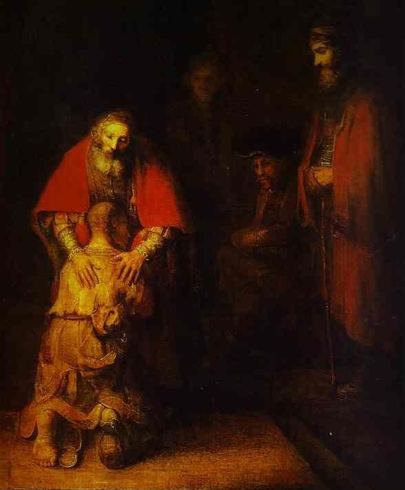 Rembrandt. The Return of the Prodigal  Son.