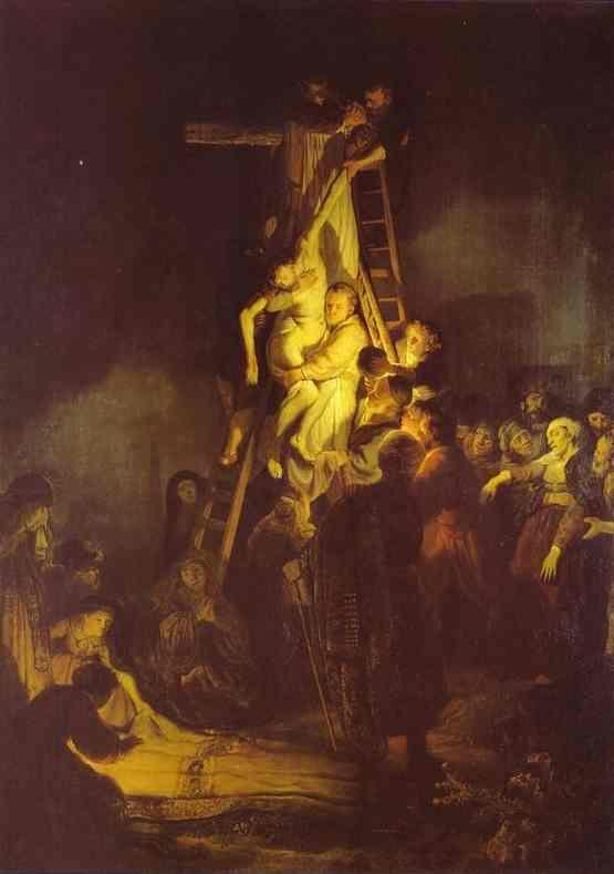 Rembrandt. Descent From the Cross.