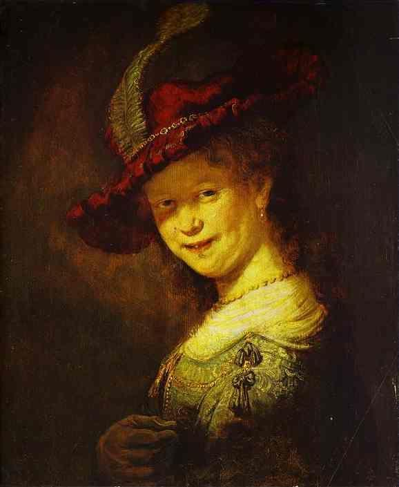 Rembrandt. Portrait of Saskia.