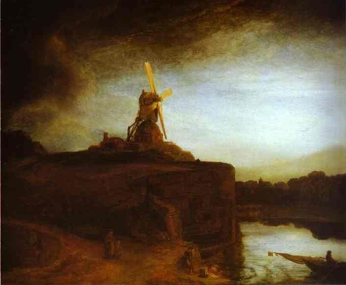 Rembrandt. The Mill.