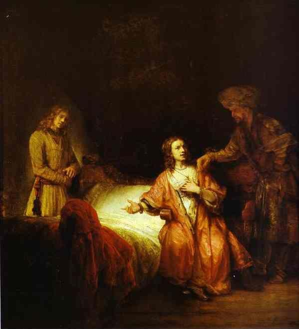 Rembrandt. Joseph Accused by Potiphar's  Wife.