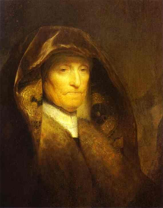 Rembrandt. Portrait of the Artist's  Mother.