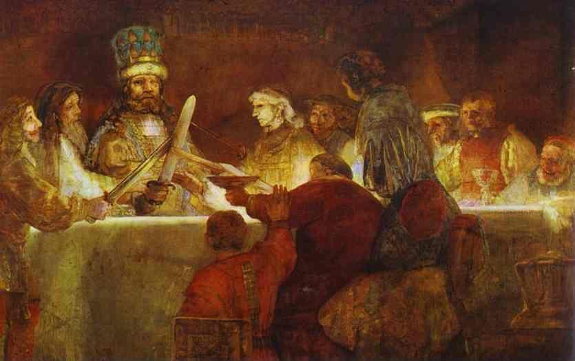 Rembrandt, A conspiração de Claudius Civilis