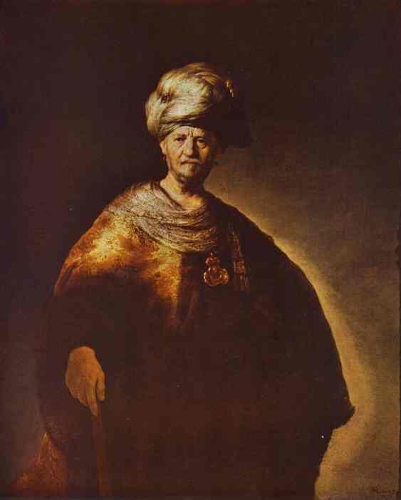 Acryl Portrait Priester   Noble Portrait