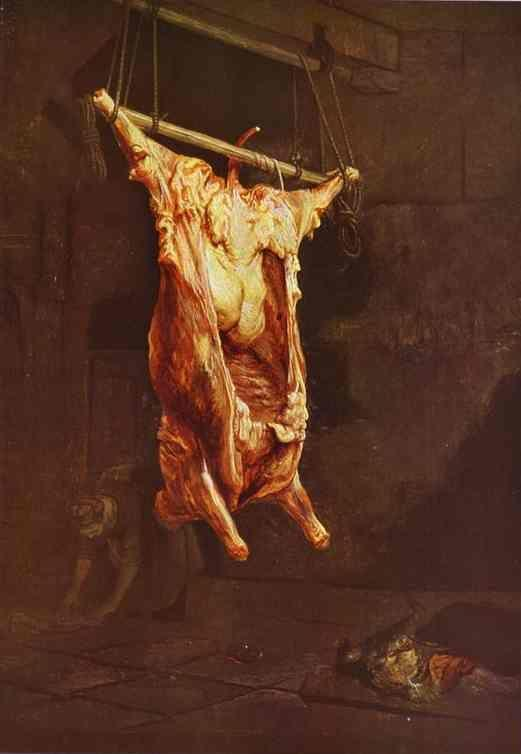 Rembrandt. The Slaughtered Ox.