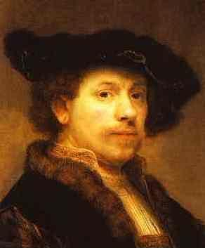 Rembrandt. Self-Portrait.