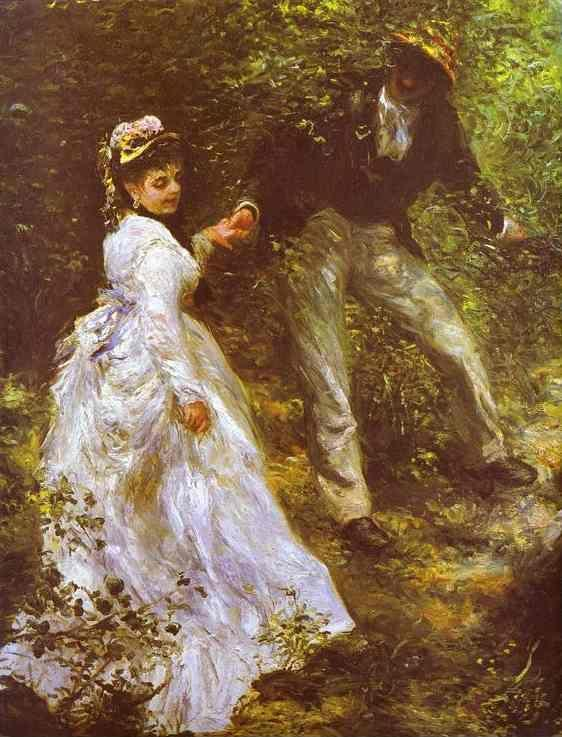 Pierre-Auguste Renoir. The Promenade.