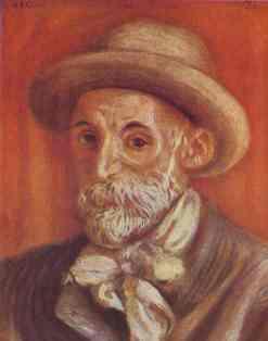 Pierre-Auguste Renoir. Self-Portrait.