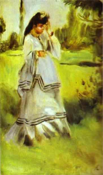 Pierre-Auguste Renoir. Woman in a Park.