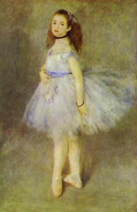 Pierre-Auguste Renoir. The Dancer.