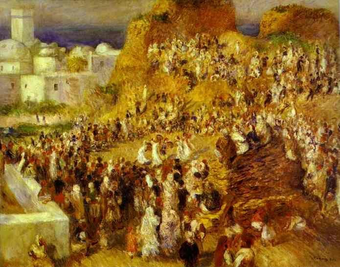 Pierre-Auguste Renoir. The Mosque (Arab Holiday).