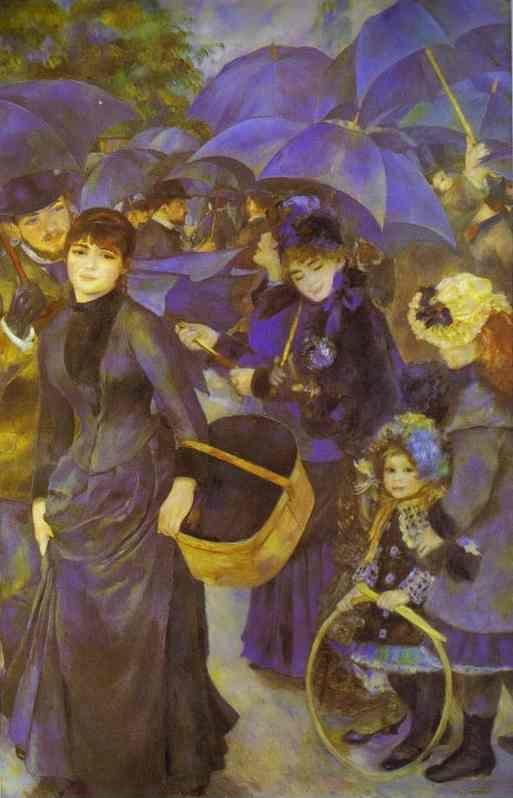 Pierre-Auguste Renoir. The Umbrellas.