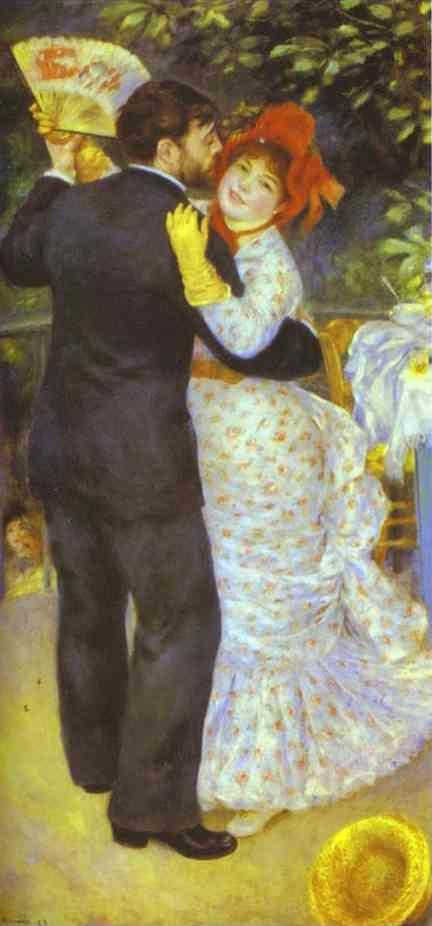 Pierre-Auguste Renoir. Country Dance (Aline Charigot and Paul Lhote).