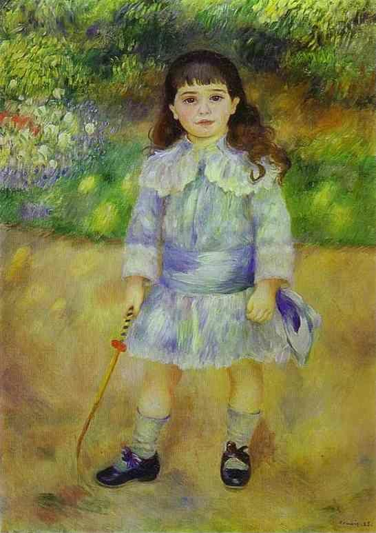 Pierre-Auguste Renoir. Child with a Whip.