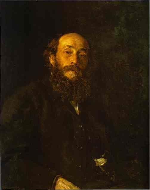 Ilya Repin. Portrait of the Artist  Nikolay Gay.