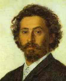 Ilya Repin Portrait