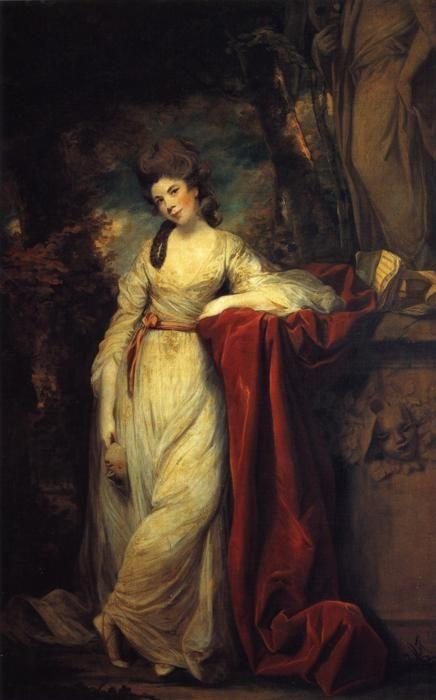 Sir Joshua Reynolds. Mrs Abington.