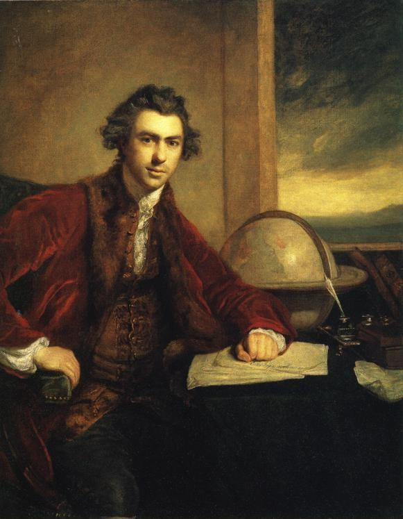 Sir Joshua Reynolds. Sir Joseph Banks.