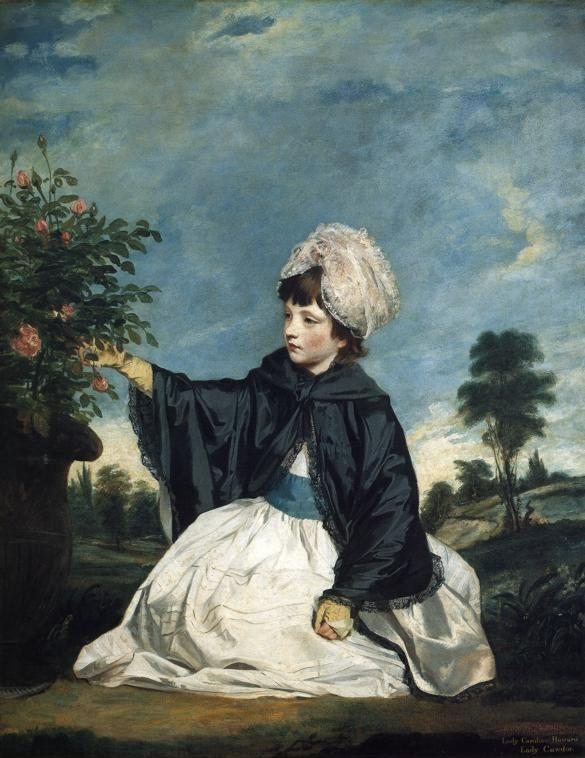 Sir Joshua Reynolds. Lady Caroline  Howard.