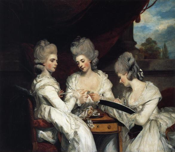Sir Joshua Reynolds. The Ladies Waldegrave.