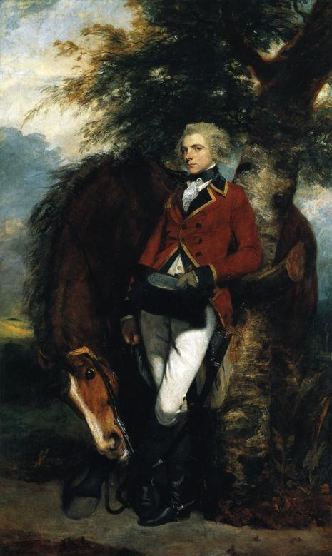 Sir Joshua Reynolds. Colonel George  Coussmaker.