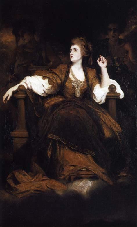 Sir Joshua Reynolds. Sarah Siddons  as the Tragic Muse.