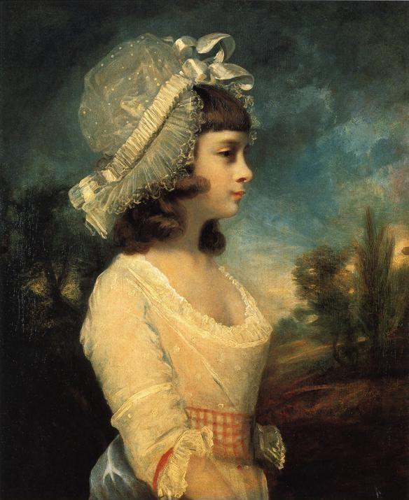 Sir Joshua Reynolds. Theresa Parker.
