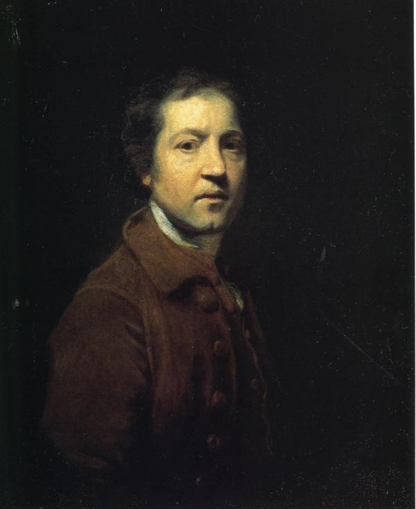 Sir Joshua Reynolds. Self-Portrait.