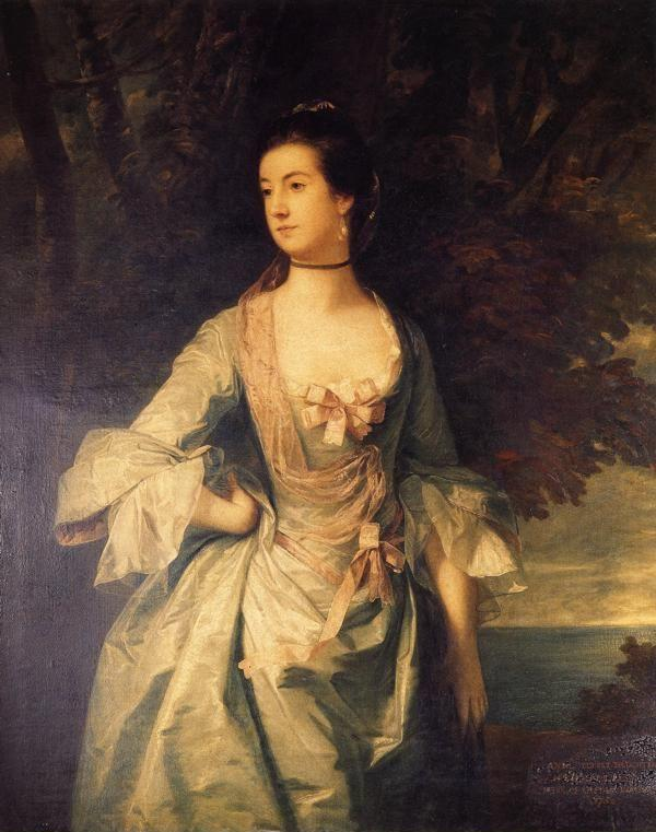 Sir Joshua Reynolds. Mrs Hugh Bonfoy.