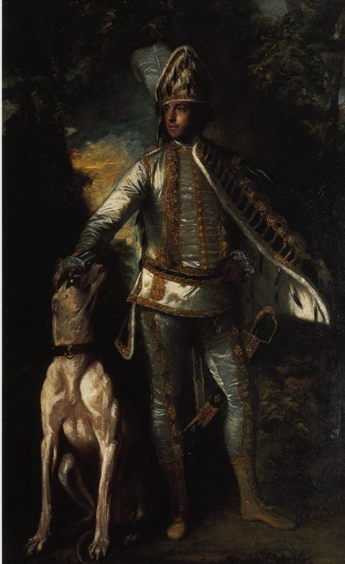 Sir Joshua Reynolds. Peter Ludlow.