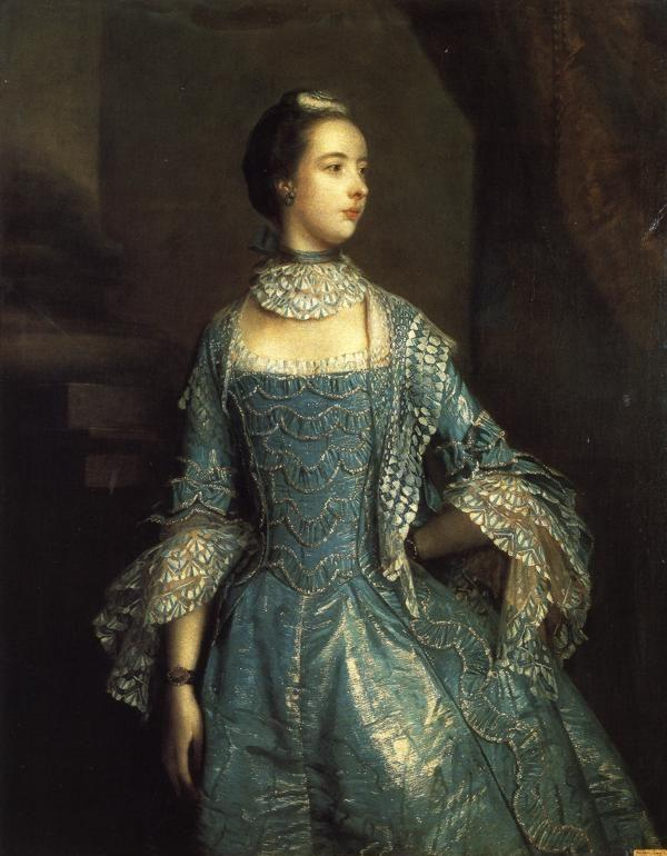 Sir Joshua Reynolds. Mrs Francis Beckford.