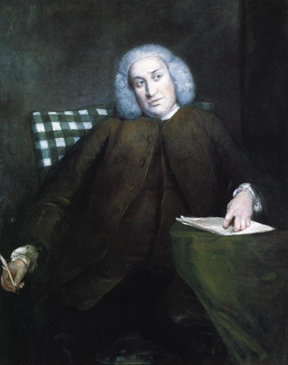 Sir Joshua Reynolds. Samuel Johnson.